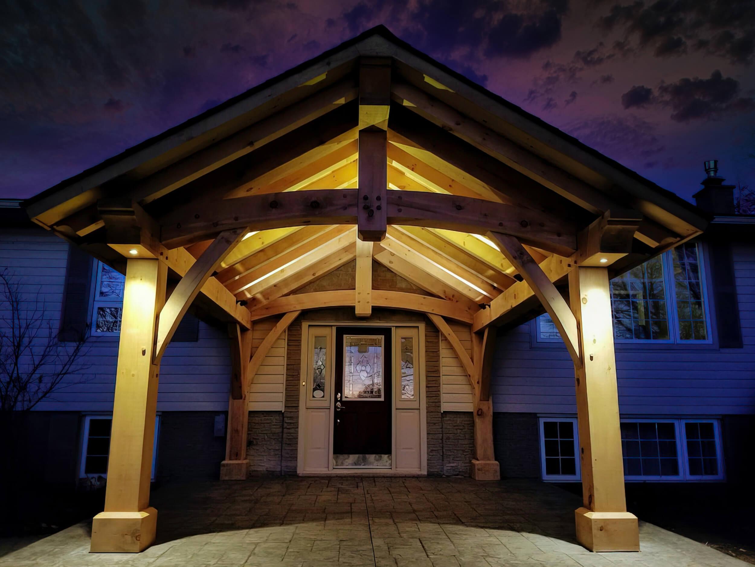 Entrance Lighting led Flamboro Ontario